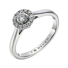 18ct white gold 1/4 carat total Forever Diamond ring - Product number 1682105