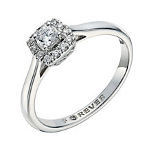 The Forever Diamond 18ct White Gold 1/4ct Total Diamond Ring - Product number 1682253