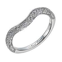 Neil Lane 14ct white gold 0.18ct diamond shaped band - Product number 1691163