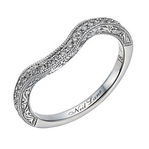 Neil Lane 14ct white gold 0.18ct diamond shaped ring - Product number 1691163