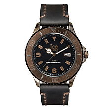 Ice-Watch Men's Dark Brown Leather Strap Watch - Product number 1691465