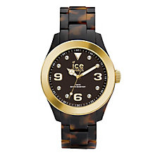 Ice-Watch Ladies' Tortoiseshell Effect Bracelet Watch - Product number 1692224