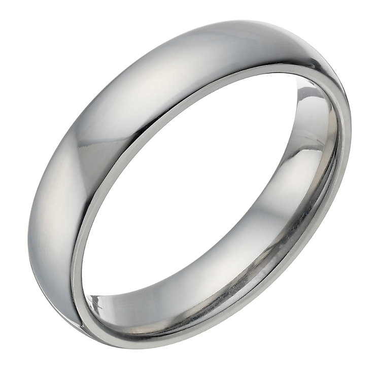 Titanium Polished 5mm Ring - Product number 1692879