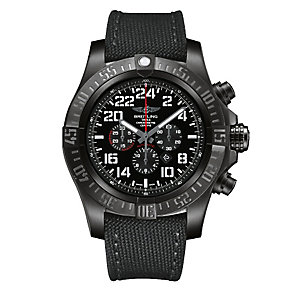 Breitling men's black stainless steel black strap watch - Product number 1693182