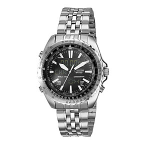 Citizen Men's Chronograph Stainless Steel Bracelet Watch - Product number 1695134