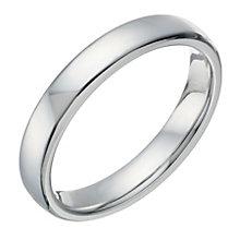Cobalt Polished 4mm Ring - Product number 1696483