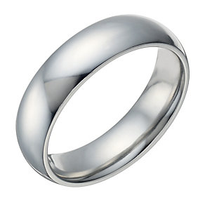 Cobalt Polished 6mm Ring - Product number 1697803