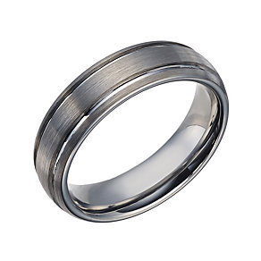 Tungsten 6mm Groove Band - Product number 1698117