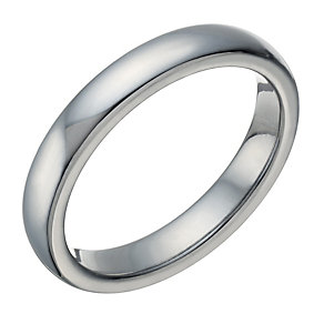 Tungsten Polished 4mm Ring - Product number 1698427