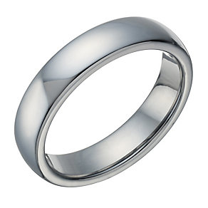 Tungsten Polished 5mm Ring - Product number 1699121