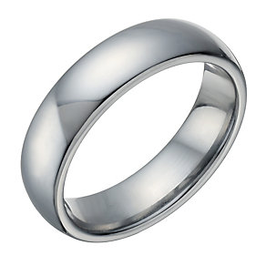 Tungsten Polished 6mm Ring - Product number 1699830
