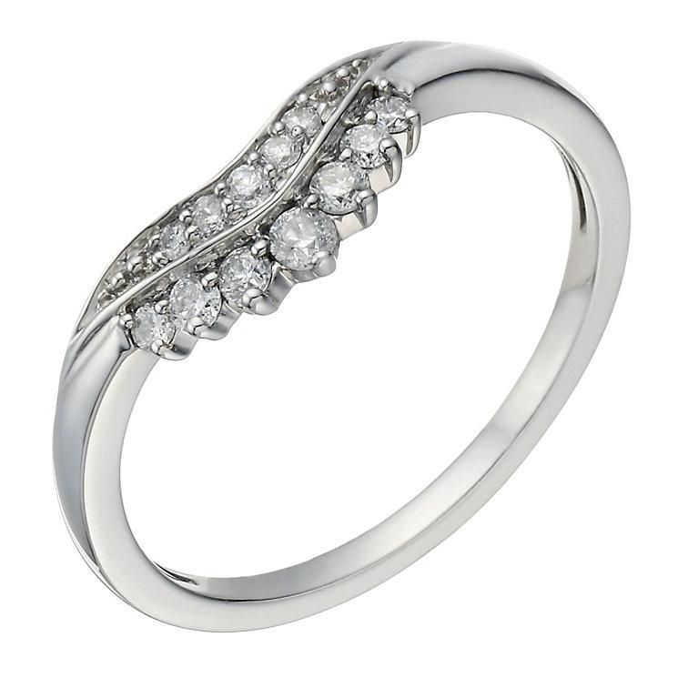 Palladium 950 15 Point Diamond Ring - Product number 1700154