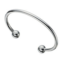 Sterling Silver Torque Bangle - Product number 1702793