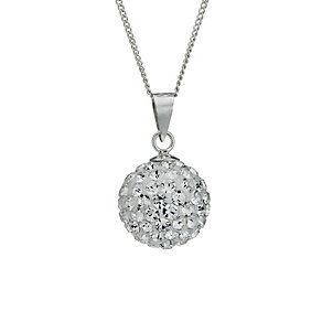 Viva Silver Crystal Ball Pendant - Product number 1717081
