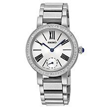 Seiko Ladies' Crystal Set Stainless Steel Bracelet Watch - Product number 1717146
