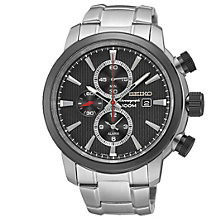 Seiko Men's Chronograph Stainless Steel Bracelet Watch - Product number 1717197