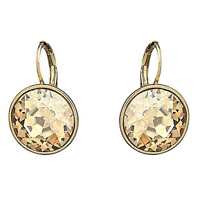 Swarovski Bella gold-plated golden shadow drop earrings - Product number 1722301