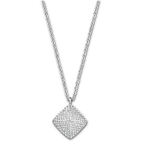 Swarovski Tactic rhodium-plated crystal pendant - Product number 1722484