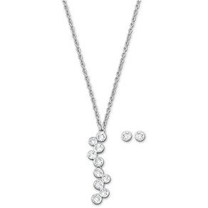 Swarovski Fidelity crystal stud earrings & pendant set - Product number 1722514