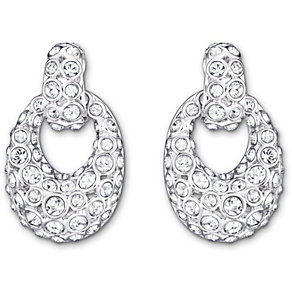 Swarovski Rarely rhodium-plated crystal drop earrings - Product number 1722557