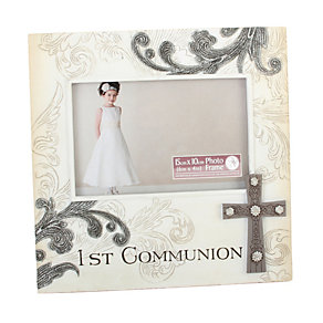 Childhood Memories First Communion Stone Photo Frame - Product number 1728024