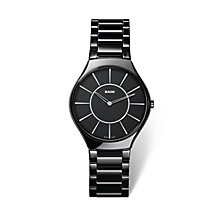 Rado True Thinline men's black ceramic bracelet watch - Product number 1735012