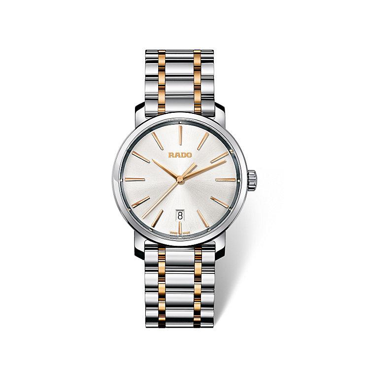 Rado DiaMaster men's two colour bracelet watch - Product number 1735039