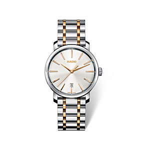 Rado DiaMaster men's two colour bracelet watch - Product number 1735039