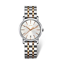 Rado DiaMaster ladies' two colour bracelet watch - Product number 1735047