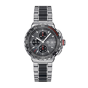 TAG Heuer F1 Calibre 16 men's stainless steel bracelet watch - Product number 1735446