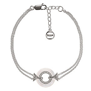 Emporio Armani sterling silver mother of pearl bracelet - Product number 1735888