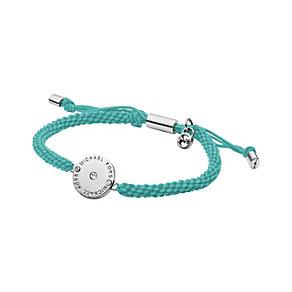Michael Kors gold-plated teal thread friendship bracelet - Product number 1736175