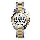 Michael Kors ladies' chronograph two colour bracelet watch - Product number 1736647