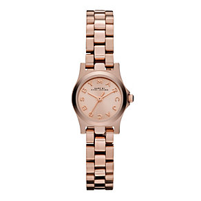 Marc Jacobs ladies' rose gold tone bracelet watch - Product number 1736965