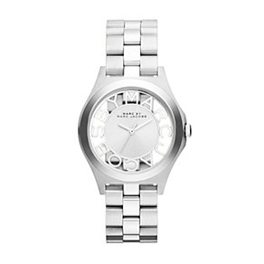 Marc Jacobs ladies' stainless steel skeleton bracelet watch - Product number 1737015