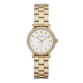 Marc Jacobs Baker Mini ladies' gold-plated bracelet watch - Product number 1737031