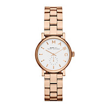 Marc Jacobs Baker Mini Ladies' Rose Gold Tone Bracelet Watch - Product number 1737058
