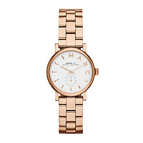 Marc Jacobs Baker Mini rose gold-plated bracelet watch - Product number 1737058