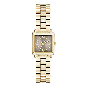 Marc Jacobs Katherine ladies' gold-plated bracelet watch - Product number 1737325