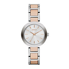 Dkny Ladies' Two Colour Stainless Steel Bracelet Watch - Product number 1737643