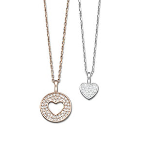 Swarovski Amorous Mix heart pendant - Product number 1738569