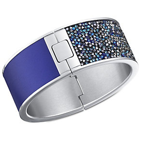 Swarovski Amazing stainless steel crystal & leather bangle - Product number 1738925