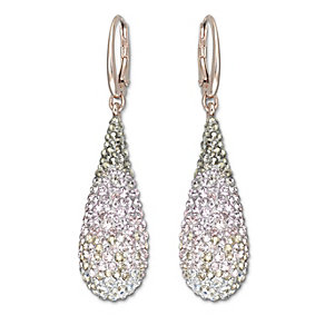 Swarovski Abstract gold-plated crystal drop earrings - Product number 1739034