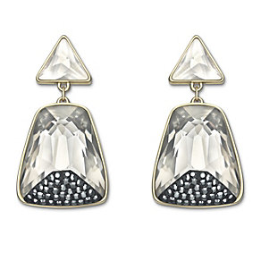 Swarovski Arty gold-plated crystal drop earrings - Product number 1739328