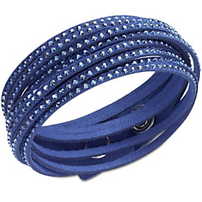 Swarovski Slake crystal metallic blue bracelet - Product number 1739476