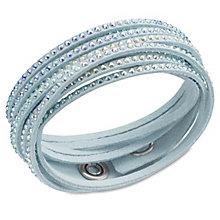 Swarovski Slake crystal light turquoise bracelet - Product number 1739484