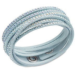 Swarovski Slake crystal light turquoise bracelet - Product number 1739484