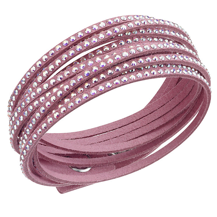 Swarovski Slake crystal moonlight light pink bracelet - Product number 1739514