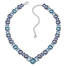 Swarovski Appeal palladium-plated blue crystal necklace - Product number 1739557