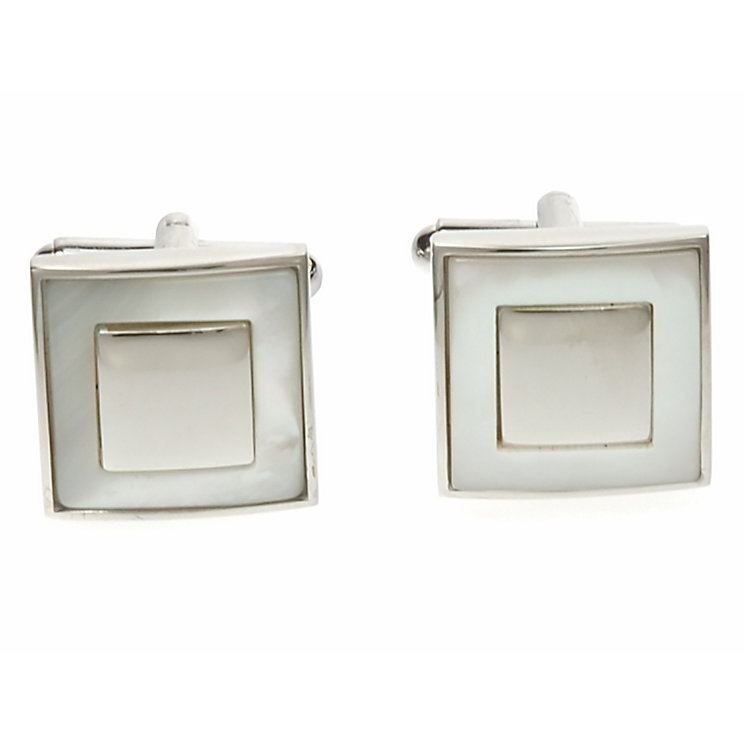 Simon Carter mother of pearl square cufflinks - Product number 1746200